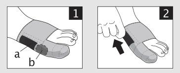 Mise en place orthese corrective hallux valgus epithelium flex 02 epitact sport